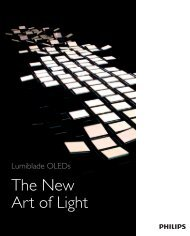 The New Art of Light - Philips Lighting