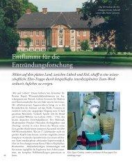 Entflammt für die Entzündungsforschung - Zukunft Lübeck