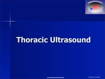 Thoracic+Ultrasound+.. - Emergency Ultrasound