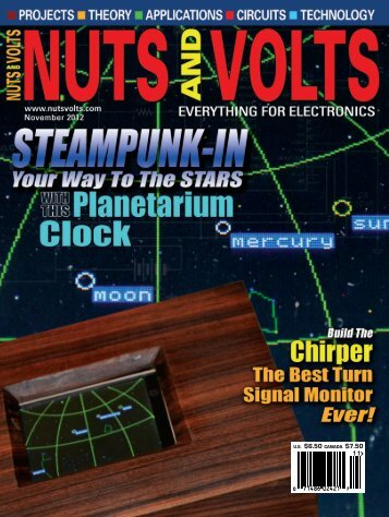 Nuts and Volts - November 2012