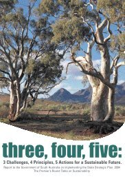 Sustainability Roundtable (2004) Three, Four, Five: Report to the ...