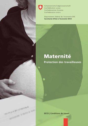 Maternité Protection des travailleuses