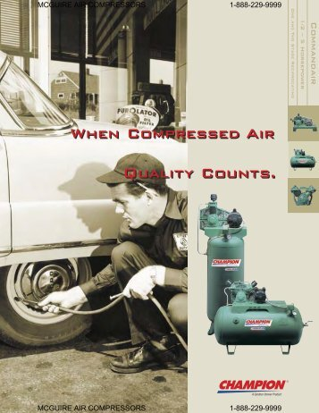 to download this brochure - McGuire Air Compressors, Inc