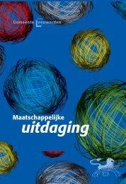maatschappelijke uitdaging LV_Opmaak 1 - Gemeente Leeuwarden