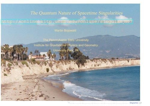 The Quantum Nature of Spacetime Singularities
