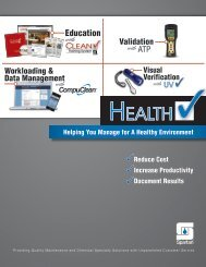 Reduce Cost Increase Productivity Document Results ... - Cleanspot