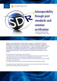 SDR Conference - European Defence Agency - Europa