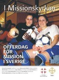 OFFERDAG FÖR MISSION I SVERIGE - Svenska Missionskyrkan