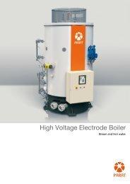 IEH: High Voltage Electrode Boiler - Parat Halvorsen