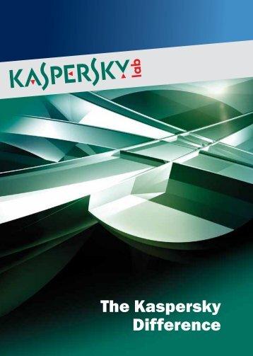 """Download our """"Why Kaspersky"""" PDF file - Kaspersky Lab"""