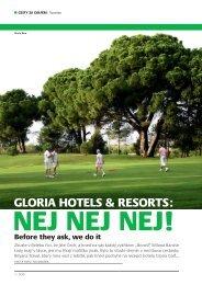 GLORIA HOTELS & RESORTS: