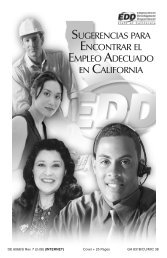 Tips for Finding the Right Job in California - Employment ...