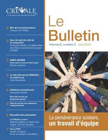 Le Bulletin - juin 2012 - CREVALE