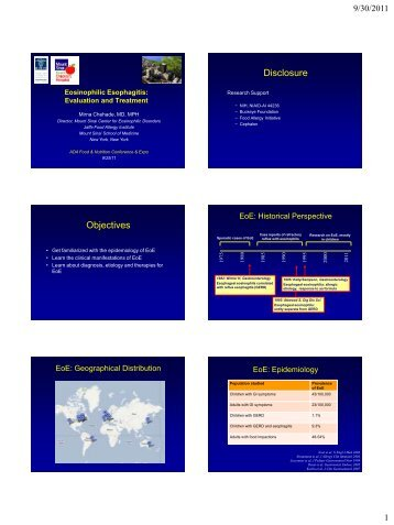 Eosinophilic Gastroenteritis - FNCE