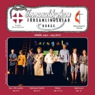 Församlingsbladet 2-12 - Svenska Missionskyrkan
