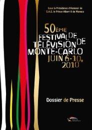 50 ans - Festival de télévision de Monte-Carlo