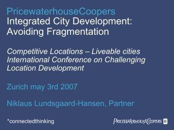 Integrated City Development: Avoiding Fragmentation Competitive ...
