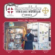 Församlingsbladet 3-10 - Svenska Missionskyrkan