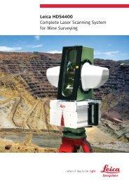 Leica HDS4400 Complete Laser Scanning ... - Construlink.com