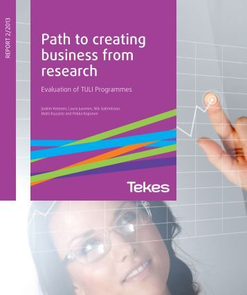 Evaluation of TULI Programmes - Tekes