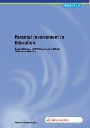 Parental Involvement in Education - Digital Education Resource ...