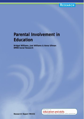 Parental Involvement in Education - Digital Education Resource ...