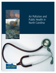 Air Pollution and Public Health in North Carolina - PolicyArchive