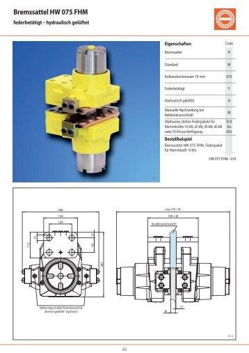 Bremssattel HW 075 FHM - RINGSPANN