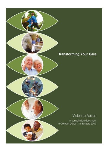 Transforming Your Care - Consultation Document - Western Health ...