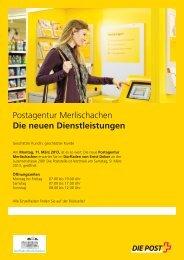 Flugblatt - Neue Luzerner Zeitung