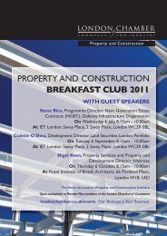 property and construction breakfast club 2011 - London Chamber of ...
