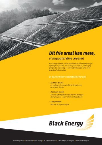 Download info-produktfolder (PDF) - Black Energy