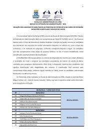 universidade federal da bahia escola de administração da ufba ...