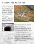 Excelencia en trabajos de Construcción Civiles y Subterráneos - Page 6