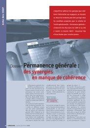 Dossier Permanence générale : - Ratp