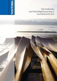 Vontobel GRI-Index 2012