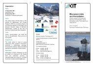 Microwave Links and Precipitation - IMK - IFU - KIT