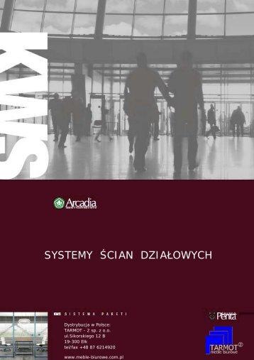 SYSTEMY ŚCIAN DZIAŁOWYCH - Tarmot