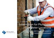 Information for Plumbers: Gas Meter Locations - SP AusNet