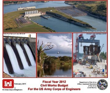 FY 2012 (Feb 2011) - U.S. Army Corps of Engineers