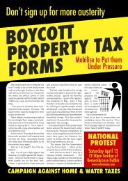 Download the leaflet PDF here - No Household Tax