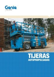 Catálogo plataformas tijera autopropulsadas - Logismarket