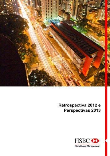 Retrospectiva 2012 e Perspectivas 2013 - Hsbc