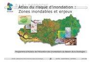 Atlas du risque d'inondation : Zones inondables et enjeux - Webissimo