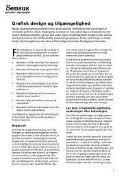 Whitepaper - Grafisk design og tilgaengelighed 1-0.pdf - Sensus ApS