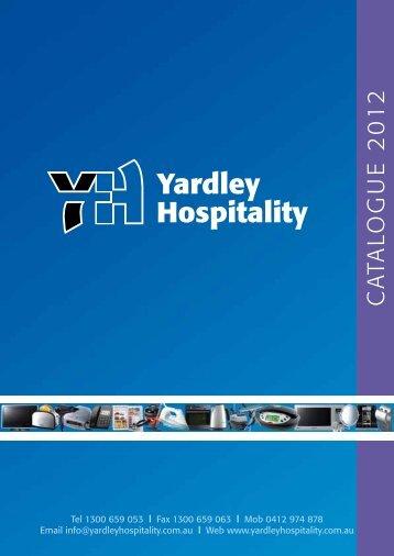 catalogue 2012 - Yardley Hospitality
