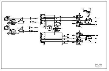 Schematic diagram(602-PS42T8-23) Digital Board Page 1 of 10