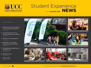 UCCStudentExperienceNews_Nov2014