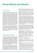 Penal Reform and Gender (Tool 5) - Page 7