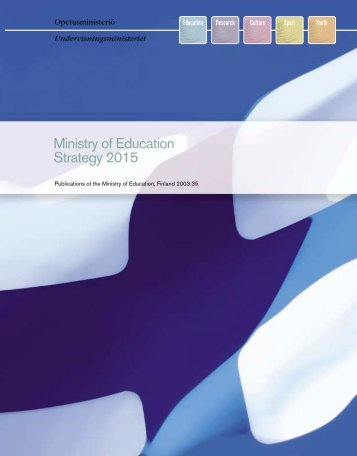 Finland Ministry of Education strategy